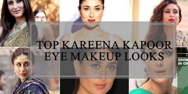 10 Melhores looks de maquiagem kareena kapoor olho e idéias