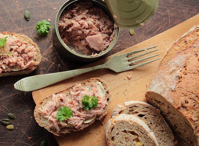 melhores alimentos ricos em proteínas para perda de peso - luz conservas de atum