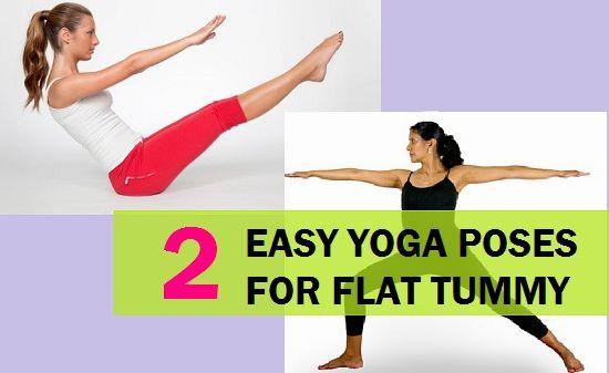 2 Fácil yoga coloca para barriga lisa e corpo tonificado