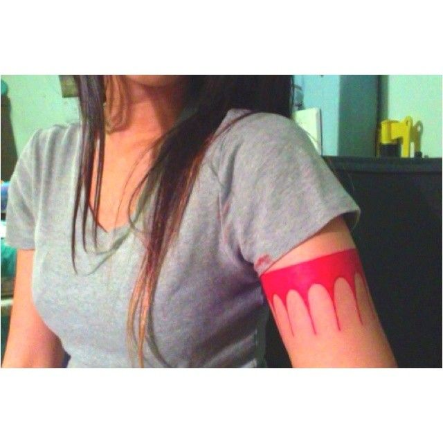 Tattoo Pocahontas Arm Banda