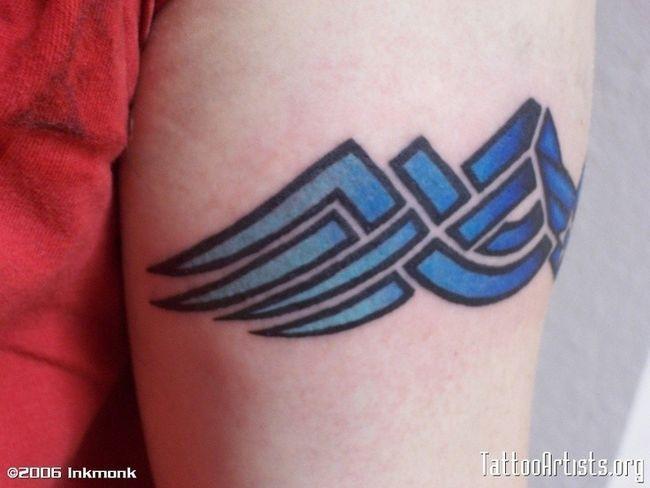 USAF Tattoo Armband