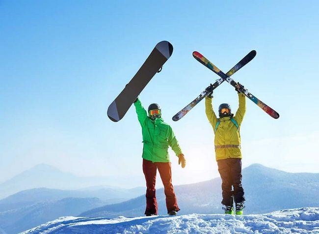 22 Melhores alimentos para os esquiadores e trituradores