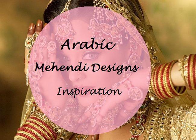 Melhor árabe Mehndi Designs para as mãos e os pés fáceis