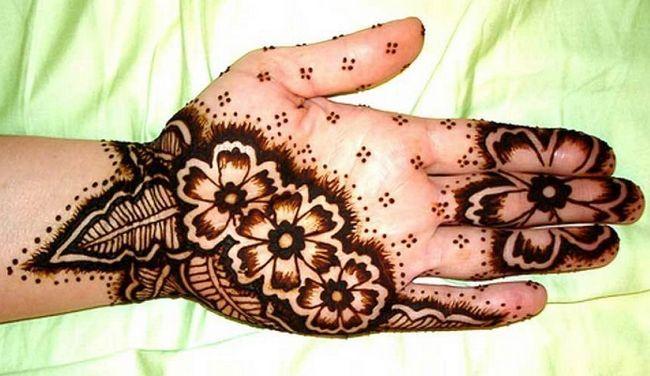 Melhor árabe Mehndi Designs fácil 13
