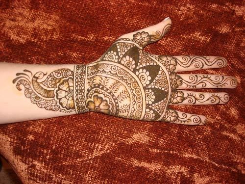 Melhor árabe Mehndi Designs indiano 18