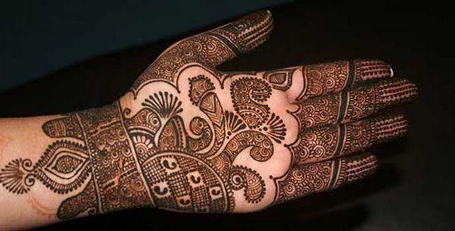 Melhor árabe Mehndi Designs para as mãos 1