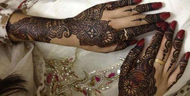Melhor árabe Mehndi Designs para as mãos de noiva 2