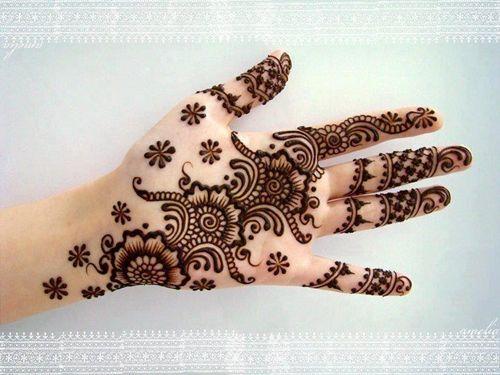 Melhor árabe Mehndi Designs curta 5