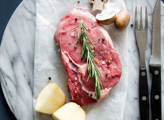 capim alimentados com carne