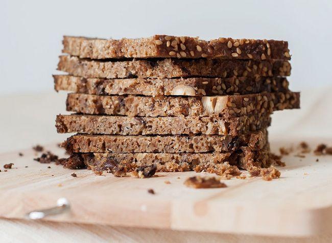 melhores alimentos ricos em proteínas para perda de peso - pão integral germinado