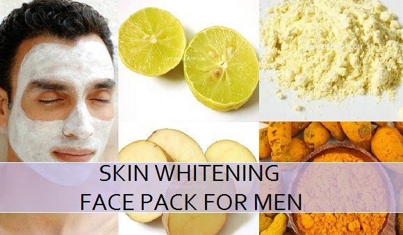 clareamento da pele máscara de beleza para homens