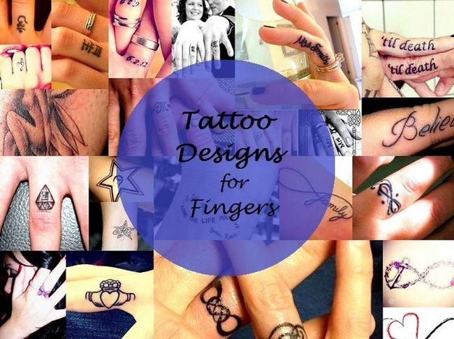 melhor tatuagem dedo projeta ideias tipos inspiração