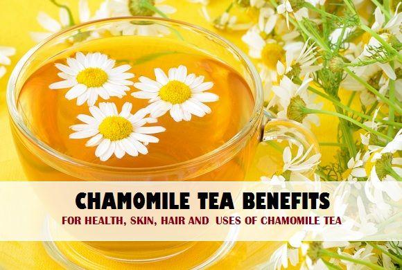 Benefícios do chá de camomila para a saúde, pele, cabelo e usos