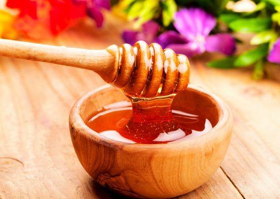 embalagens de mel para a pele brilhante