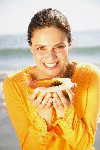 Benefícios de mamão para pele, cabelo e Saúde