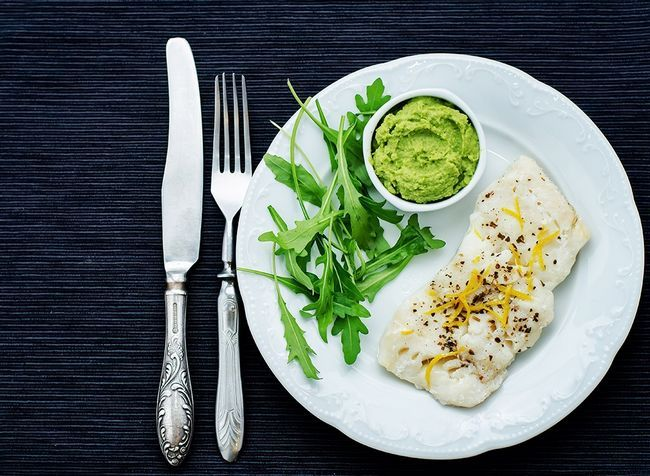 melhores alimentos ricos em proteínas para perda de peso - o bacalhau do Pacífico