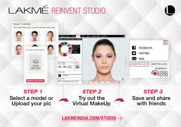 reinventar Lakme app estúdio reforma