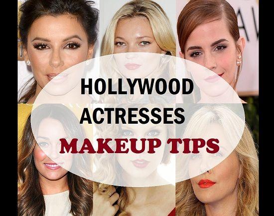 Segredos da composição de atrizes de Hollywood