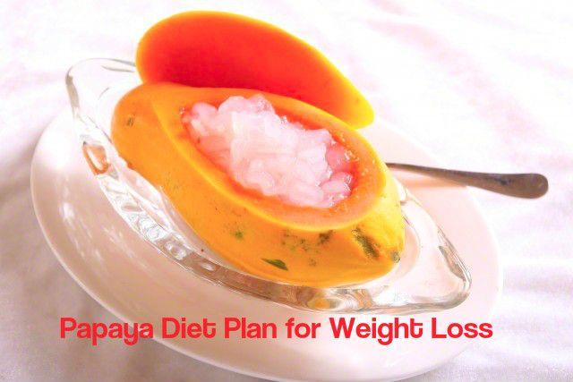 Papaya dieta Benefícios Plano
