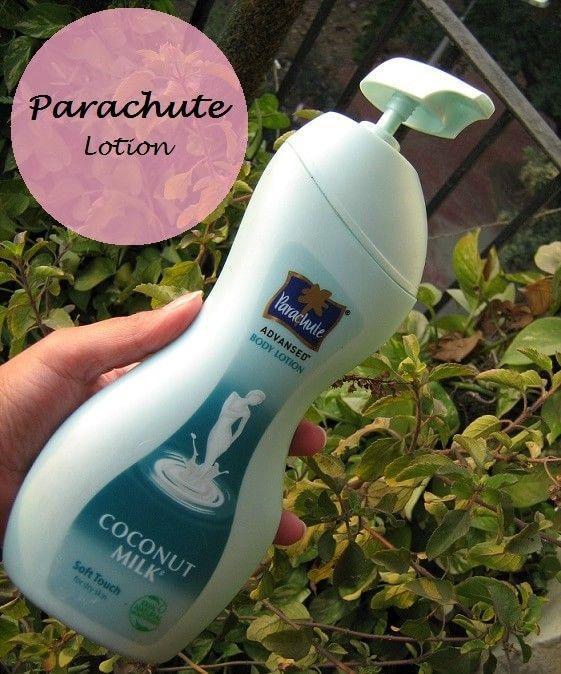 Parachute advansed loção suave corpo toque de leite de coco pele seca: revisão e preço