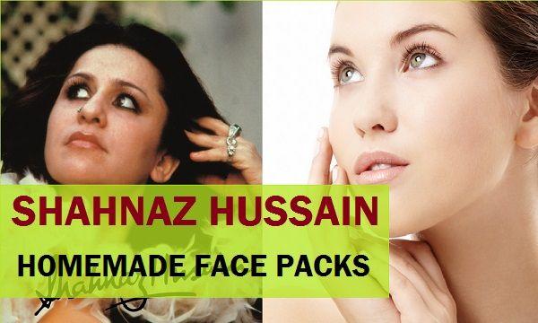 Shahnaz hussain receitas faciais caseiros pacote