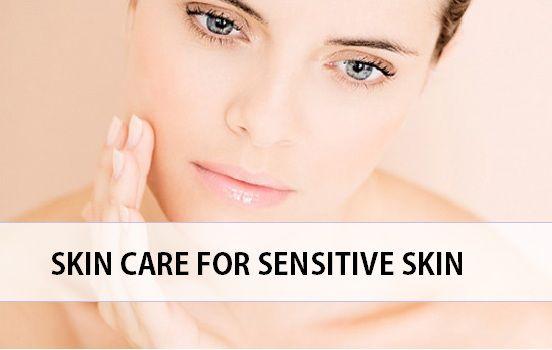 dicas para cuidados da pele da pele senstive