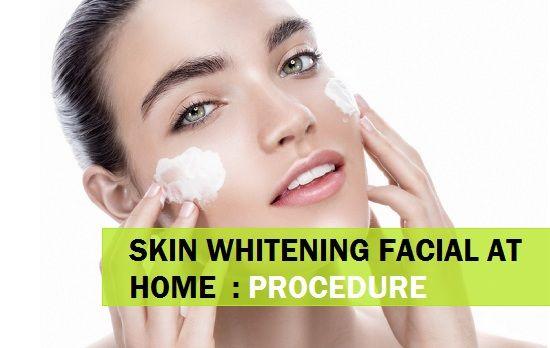 Clareamento da pele facial em casa com produtos naturais