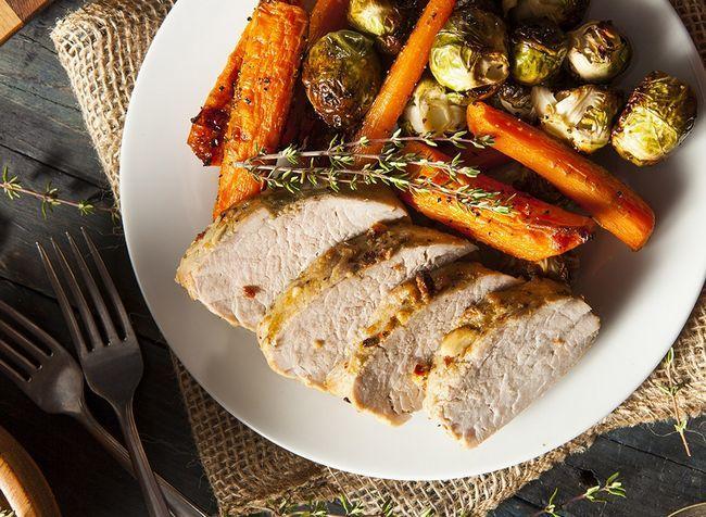 melhores alimentos ricos em proteínas para perda de peso - carne de porco