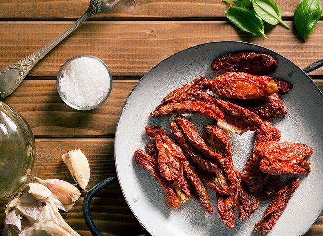 melhores alimentos ricos em proteínas para perda de peso - tomate seco