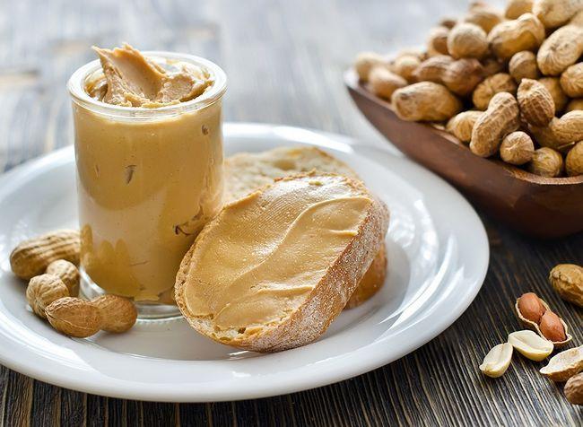 melhores alimentos ricos em proteínas para perda de peso - manteiga de amendoim