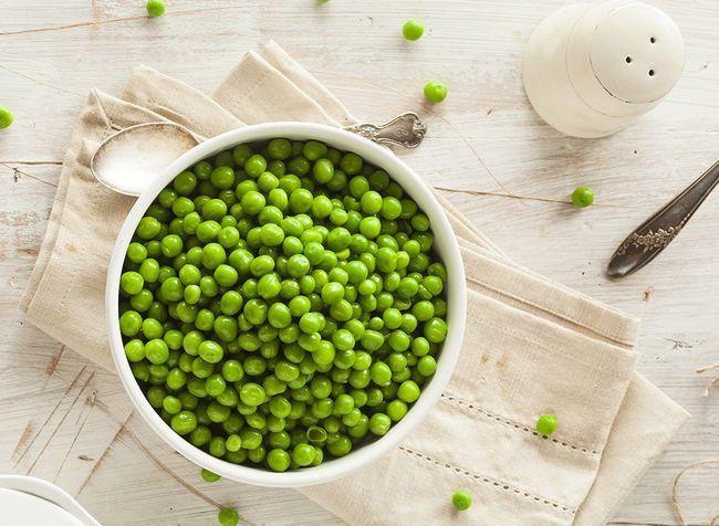 melhores alimentos ricos em proteínas para perda de peso - ervilhas
