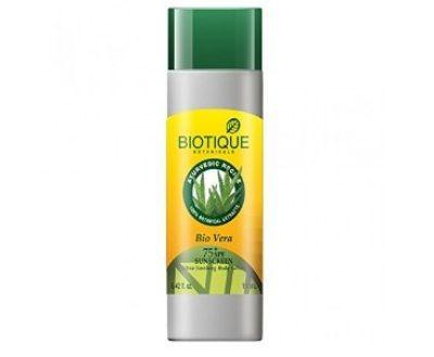 biotique protetor solar para a pele seca