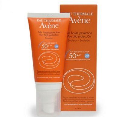 protetor solar Avene para a pele seca