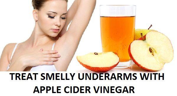 Trate axilas mau cheiro com vinagre de maçã