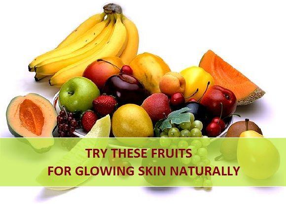 Experimente estes frutos para a pele brilhante, naturalmente,