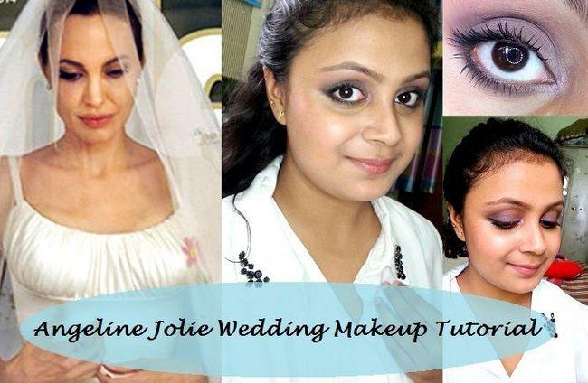 Tutorial: como dia inspirado olhar angelina jolie maquiagem casamento pitt