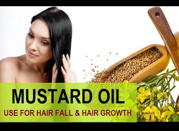 Use óleo de mostarda para a perda de cabelo, cabelos grisalhos e rebrota